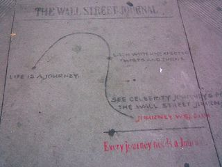 Wall St. Journal Graffiti